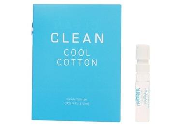 Cool Cotton Clean - 1,5 мл - Образец - унисекс доставка товаров из Польши и Allegro на русском