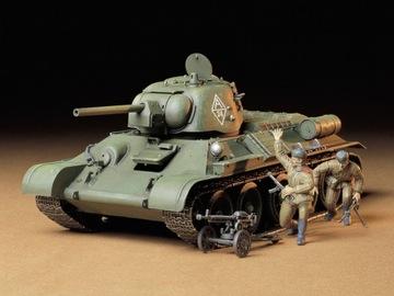 Танк Т-34/76 модель 1943 модель Tamiya 35149 доставка товаров из Польши и Allegro на русском