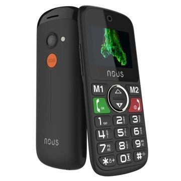 Телефон для пенсионеров Helper Mini (NS1736) Black доставка товаров из Польши и Allegro на русском