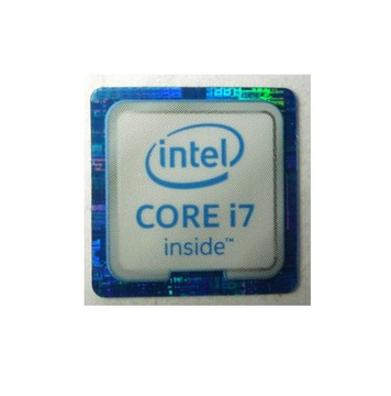 112b Naklejka Intel Core i7 inside 18x18 mm доставка товаров из Польши и Allegro на русском