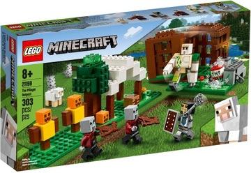 LEGO MINECRAFT Логово разбойников 21159 доставка товаров из Польши и Allegro на русском