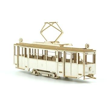 Model z tektury - Tramwaj KONSTAL 4N skala 1:87 H0 доставка товаров из Польши и Allegro на русском