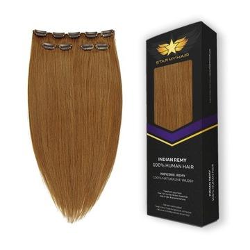 CLIP IN ON натуральные волосы прицепные STAR MY HAIR доставка товаров из Польши и Allegro на русском