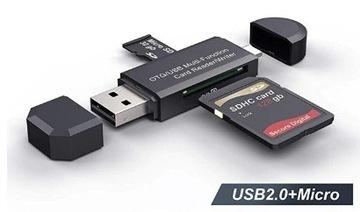 Адаптер SD кард-Ридер Микро-USB OTG для мобильного телефона доставка товаров из Польши и Allegro на русском