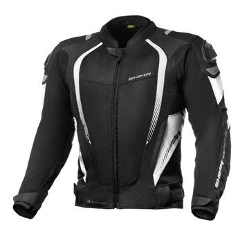 Летняя Куртка SHIMA MESH PRO BLACK WHITE белый L доставка товаров из Польши и Allegro на русском
