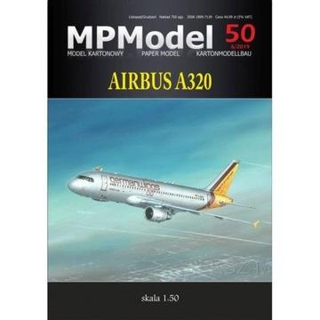 MPModel 50 - пассажирский Самолет Airbus A320 1:50 доставка товаров из Польши и Allegro на русском