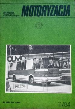 Автомобильная 11/1984 Ежемесячный Журнал доставка товаров из Польши и Allegro на русском