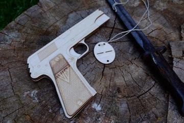 Пистолет, как VIS wz. 35 ластик - магазин и амо доставка товаров из Польши и Allegro на русском