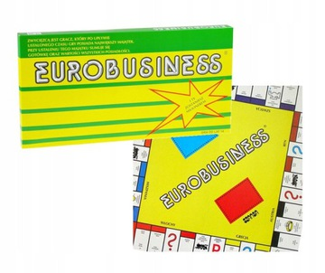 НАСТОЛЬНАЯ ИГРА EUROBUSINESS EUROBIZNES EUROBISNES доставка товаров из Польши и Allegro на русском