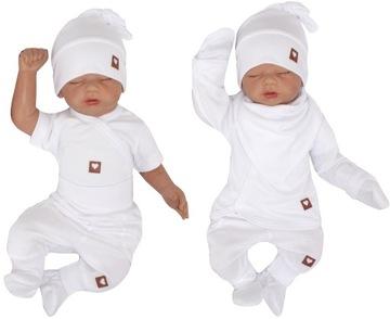 6cz белый комплект полный ПРИДАНОЕ для новорожденного до больницы 50 доставка товаров из Польши и Allegro на русском