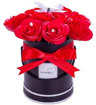 FLOWER BOX ИЗ АРОМАТНЫХ РОЗ МЫЛЬНЫХ ПУЗЫРЕЙ В ПОДАРОК доставка товаров из Польши и Allegro на русском