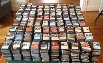 Коллекция из 100 000 карт Magic the Gathering доставка товаров из Польши и Allegro на русском