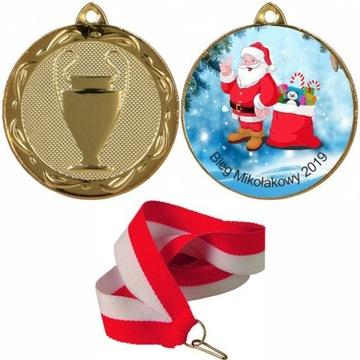 Медаль БЕГ MIKOŁAJKOWY МИКОЛАЙКИ доставка товаров из Польши и Allegro на русском