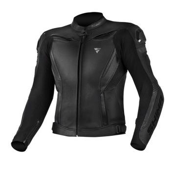 Куртка кожаная SHIMA ЧЕЙС BLACK XL 54 черный доставка товаров из Польши и Allegro на русском