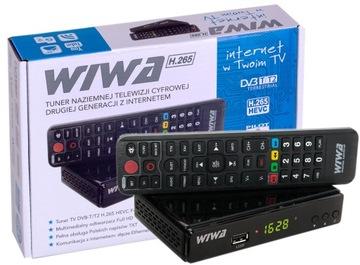 Декодер, Тюнер, Wiwa Наземного телевидения DVB-T H. 265 доставка товаров из Польши и Allegro на русском