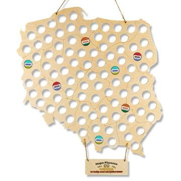 КАРТА PIWOSZA на БУТЫЛКИ ПОДАРОК ДЛЯ НЕГО ГРАВЕР доставка товаров из Польши и Allegro на русском