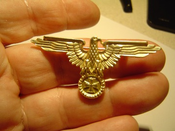 золотой значок немецкая ОРЕЛ доставка товаров из Польши и Allegro на русском