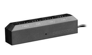 (DEEPCOOL FAN HUB FH-04 контроллер вентиляторов 4) доставка товаров из Польши и Allegro на русском
