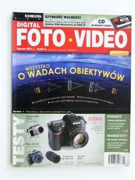 DIGITAL FOTO VIDEO январь 2011 + CD доставка товаров из Польши и Allegro на русском