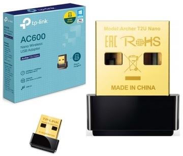 TP-LINK сетевой Адаптер Archer T2U Nano AC600 доставка товаров из Польши и Allegro на русском