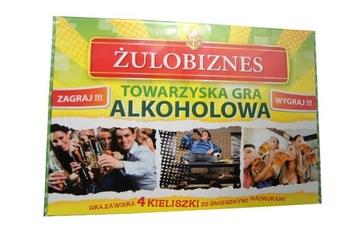 GRA TOWARZYSKA ŻULOBIZNES Z KIELISZKAMI na PREZENT доставка товаров из Польши и Allegro на русском