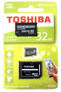 KARTA PAMIĘCI 32GB CLASS10 MS PRO DUO do SONY PSP доставка товаров из Польши и Allegro на русском