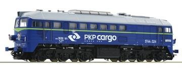 Spalinowóz ST44 PKP Cargo Roco 73778 в Масштабе 1:87 HO доставка товаров из Польши и Allegro на русском