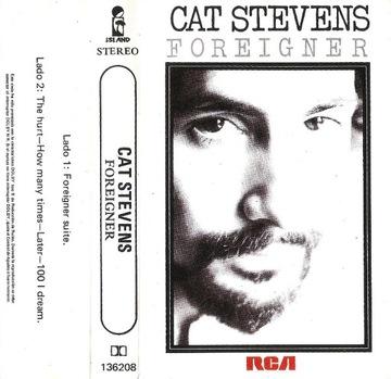 CAT STEVENS - FOREIGNER [КАРТРИДЖ] доставка товаров из Польши и Allegro на русском