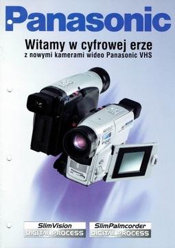 PANASONIC видеокамеры S-VHS ET 1996 папку доставка товаров из Польши и Allegro на русском