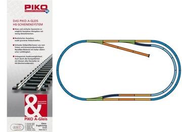 PIKO A-Gleis Набор Треков Модельных A+B+C доставка товаров из Польши и Allegro на русском