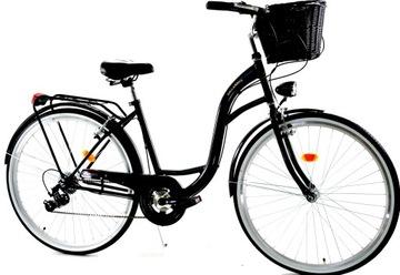 Женский Велосипед Городской мужской 28 Даллас 7 передач доставка товаров из Польши и Allegro на русском
