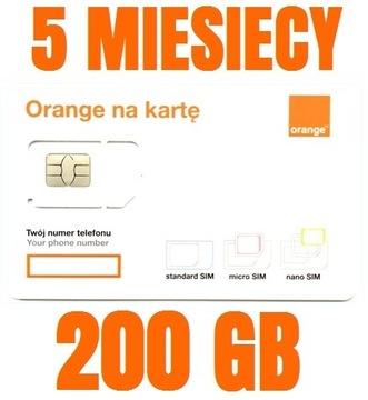 STARTER INTERNET ORANGE FREE 200 ГБ доставка товаров из Польши и Allegro на русском