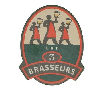 LES 3 BRASSEURS подставка с пивом вафельные доставка товаров из Польши и Allegro на русском