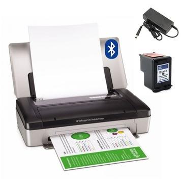 Мобильный принтер HP 100 BLUETHOOTH АККУМУЛЯТОР ЧЕРНИЛА доставка товаров из Польши и Allegro на русском