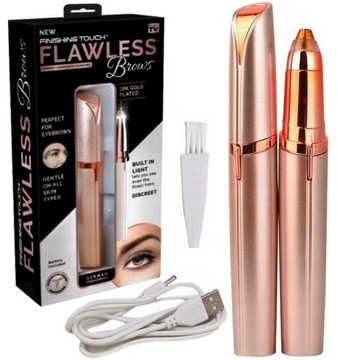 Depilator FLAWLESS BROWS Trymer Brwi TOUCH Twarzy