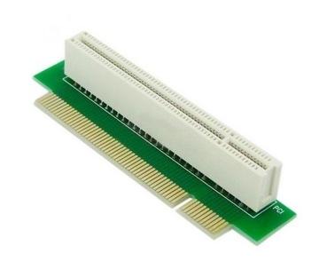 Адаптер Угловой Ленты Riser PCI 32x - 32x ЛЕВЫЙ доставка товаров из Польши и Allegro на русском