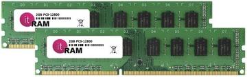 ОПЕРАТИВНАЯ ПАМЯТЬ 4GB (2x2) DDR3 DIMM, 1600MHz 12800U доставка товаров из Польши и Allegro на русском