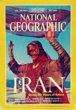 National Geographic vol. 196 no. 1 July1999 АНГЛ доставка товаров из Польши и Allegro на русском