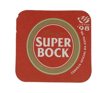 SUPER BOCK подставка с пивом вафельные доставка товаров из Польши и Allegro на русском
