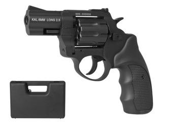 Револьвер например 6мм ZORAKI K-6L Long черный доставка товаров из Польши и Allegro на русском