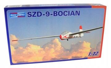 Модель планера SZD-9-АИСТ (1:72) + клей доставка товаров из Польши и Allegro на русском