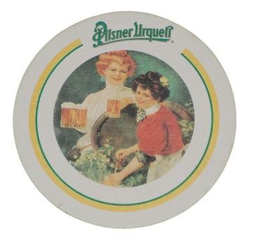 PILSNER URQUELL подставка с пивом вафельные доставка товаров из Польши и Allegro на русском