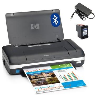 Мобильный принтер HP H470 BLUETOOTH АККУМУЛЯТОР +ЧЕРНИЛА доставка товаров из Польши и Allegro на русском