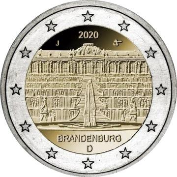 (Германия 2 Евро Бранденбург комплект 2020) доставка товаров из Польши и Allegro на русском