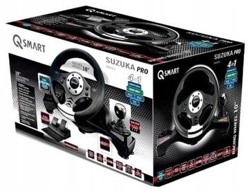 Рулевое колесо SUZUKA Pro 4w1 | PC PS3 PS4 XBOX ONE | доставка товаров из Польши и Allegro на русском