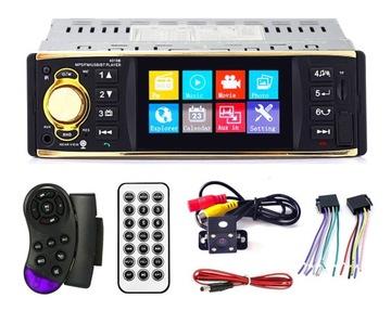 РАДИО 1DIN ЭКРАН 4,1 BT MP3-SD USB +КАМЕРА ЗАДНЕГО ВИДА доставка товаров из Польши и Allegro на русском