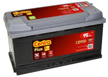 Аккумулятор Centra Plus CB950 95Ah 800МА P+ доставка товаров из Польши и Allegro на русском