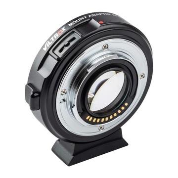 Адаптер сочленения Viltrox EF-М2 II Canon EF для MFT доставка товаров из Польши и Allegro на русском