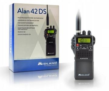 Рацию Алан 42 DS Midland радиостанция доставка товаров из Польши и Allegro на русском