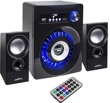 КОМПЬЮТЕРНЫЕ КОЛОНКИ 2.1 Bluetooth USB SD FM-ДЖЕК доставка товаров из Польши и Allegro на русском
